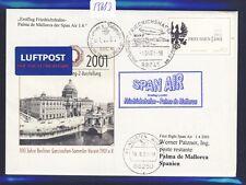 55683) SPAN AIR FF Friedrichshafen - Palma Spanien 1.4.01, Zudruck GAU