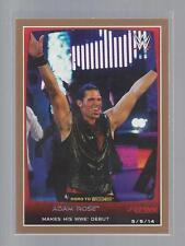 2015 TOPPS WWE Road to Wrestlemania BRONZE  #17  ADAM ROSE          50 CENT SHIP