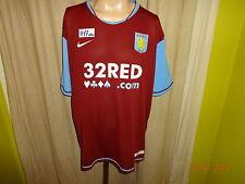 """Aston Villa Original Nike Heim Trikot 2007/08 """"32 RED.com"""" Gr.XXL NEU"""