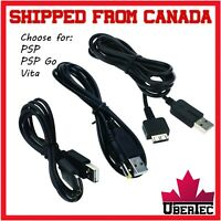 USB Charger Cable For Sony PS Vita PCH-1000 PSP 1000 2000 3000 Go N1000 Adapter