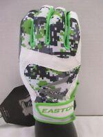 Easton Stealth Core ADULT Baseball Batting Gloves NEW Digital Camo Green/White
