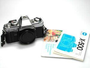 Minolta X-500 SLR