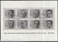 Deutschland 20. Juli 1944 Block 3 mit Sonderstempel Berlin BPP Prüf. Schlegel HD