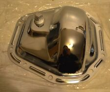 Chrome Steel Dana 60 Rear End / Front End 10 Bolt Differential Cover Ford Chevy