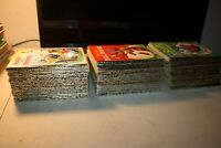 "Vintage Walt Disney ""A Little Golden Book"" Collection of 60 as a lot"