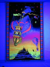 Vintage Psychedelic Blacklight Poster EXODUS By BLASNSY 1971 40X26 AWESOME