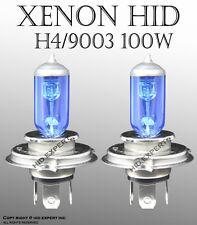 TMZ Fast Ship H4 100W Pair High Low Beam Xenon HID Super White Bulbs Gu3 AB N144
