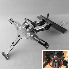 CNC Aluminum Motorcycle Scooter Number Plate Mount Holder Plate Holder Bracket