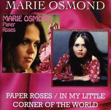 Marie Osmond - Paper Roses  In My Little Corner Of The World [CD]