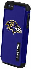 For Apple iPhone 5 5s and SE Baltimore Ravens NFL Dual Hybrid Two Piece Case