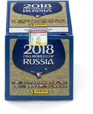 2018 PANINI RUSSIA FIFA WORLD CUP SOCCER STICKERS - FACTORY SEALED 50 PACK BOX