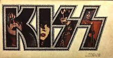 New listing Orig! Kiss Band vTg Aucoin 70s Ace Gene Love Gun Destroyer t-shirt iron-on Nos