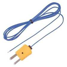 Reed Instruments Tp 01 Beaded Thermocouple Wire Probe Type K 40 To 482f