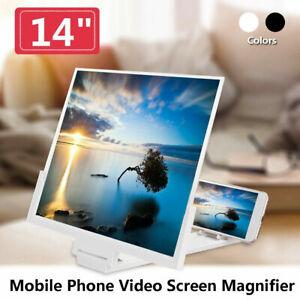 """14"""" Loupe D'Amplificateur 3D HD D'Écran Support de téléphone Screen Magnifier"""