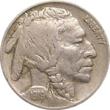 New Listing1919 Buffalo Nickel-Solid Very Fine+