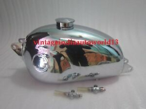 Hodaka Chrome Gas Tank 125 Combat Wombat Model 95 Super Rat Road Toad Dirt Squir