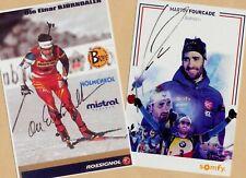 Ole Einar Björndalen-Martin Fourcade (6) - 2 Super AK pictures + Ski AK FREE