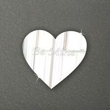 Acrylic Heart Decorative Indoor Signs/Plaques