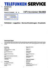 Service Manual-Anleitung für Telefunken S 800