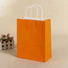 New Party Bags Kraft Paper Gift Bag With Handles Recyclable Shop Loot Bag
