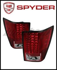 Spyder Jeep Grand Cherokee 07-10 LED Tail Lights Red Clear