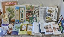 Mediocre Lot of Cross Stitch Embroidery Bucilla Herrschners Father Christmas