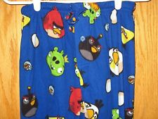ANGRY BIRDS Movie Game Lounge Pants PJ Pajama Bottoms - SMALL - Previously Owned
