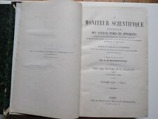 Le Moniteur Scientifique/Journal Sciences Pures et Appliquées/Quesneville/1880