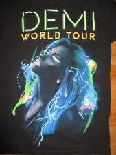 """2014 DEMI LOVATO """"Neon Lights"""" World Concert Tour (MED) T-Shirt"""