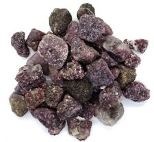 BULK  ROUGH  LEPIDOLITE CHUNKS GOOD COLOR - 5 LBS - 60-70 PCS.