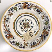 Ceramica Cuore Raffaellesco Dragons Large Serving Pasta/Salad Bowl Made In Italy