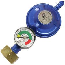 Calor 4.5KG Butane Screw-On Gas Regulator With Gas Level & Leak Indicator Gauge