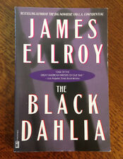 RARE Signed PB James Ellroy THE BLACK DAHLIA ~ MINT and UNREAD!!