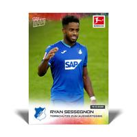 TSG Hoffenheim Card 073 Ryan Sessegnon Topps Now Bundesliga 2020-21