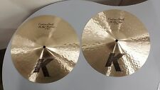 Zildjian 14 K Custom Dark Hi-Hats K0943 GREAT CONDITION
