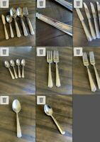 AMERICAN CLASSIC Reed & Barton Stainless Steel Flatware. 19 Pieces. Partial Set.