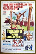 """""""TARZAN'S THREE CHALLENGES"""" - 3 times more thrilling than you've ever seen!"""