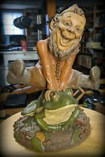 """Tom Clark & Tim Wolfe Gnome """"Jumping Jack"""" #6311-Collector Society Artwork"""