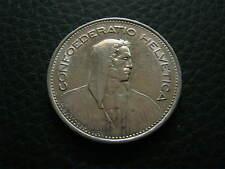 5 Schweizer Franken Umlaufmünze 1939 B - SILBER