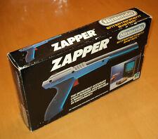 Sammlungsauflösung Nintendo NES GRAU ZAPPER OVP boxed HOL version selten