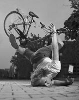 Vintage Bike Fall Photo 184 Oddleys Strange & Bizarre