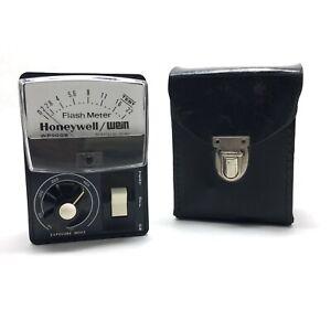 Vintage Handheld Honeywell Wein Flash Meter WP000B With Case
