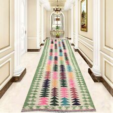 9893 Afghan Kilim, Runner Rug, Turkish Kilim, Handmade tribal wool rug 3x10