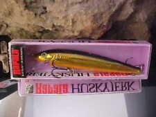 """Rapala 4"""" Suspending Husky Jerk HJ10 G in GOLD for Bass/Walleye/Pike/Trout"""