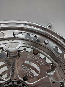 Vintage Steel Schwinn Integer FF System Ratcheting Crankset 52-39 A 88 80