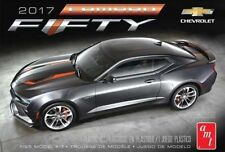 AMT #1035 1/25 2017 Chevy Camaro 50th Anniversary model kit