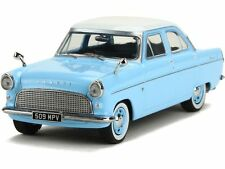 PREMIUM X - FORD CONSUL MK2 1959 LIGHT BLUE WHITE ROOF RHD 1:43 SCALE