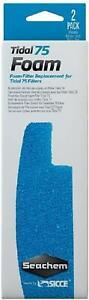 Seachem Foam Filter Sponge  - Foam Tidal 75 Filter 2 Pack