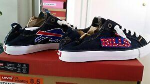 Buffalo Bills LEVI'S Denim Women's Sneakers
