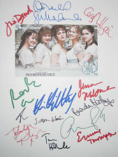 Pride and & Prejudice Signed Script X13 Keira Knightley Sutherland Dench reprint
